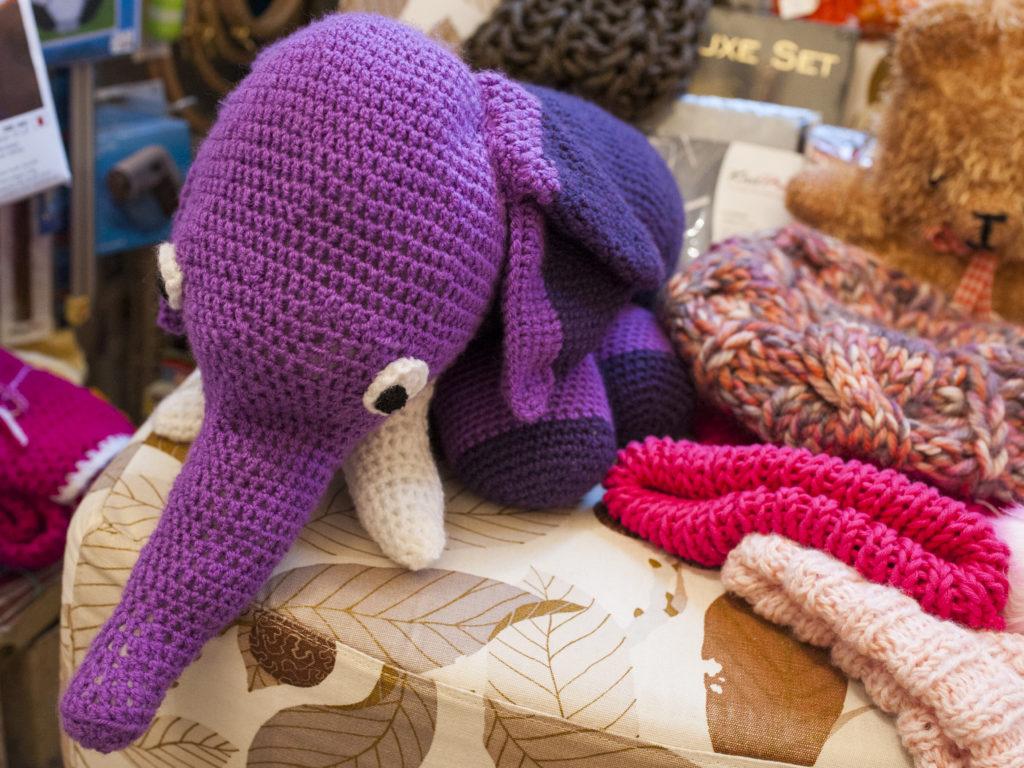 Elefant aus Häkelgarn